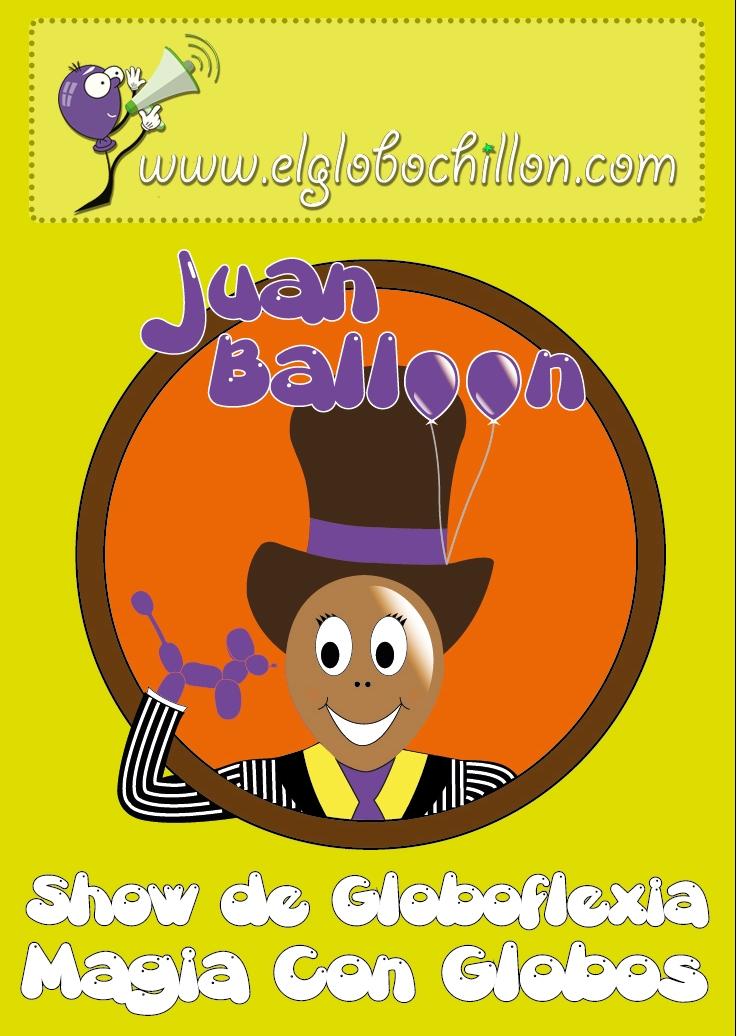 Cartel Juan Balloon