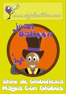 Cartel de Juan globo
